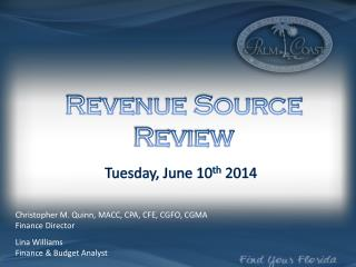 Tuesday, June 10 th  2014