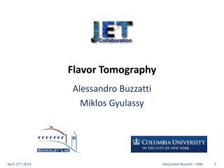 Flavor Tomography
