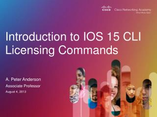 Introduction to IOS 15  CLI Licensing Commands