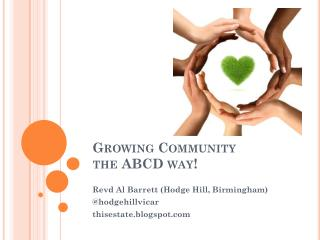 Growing Community the ABCD way!