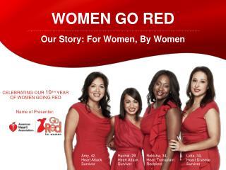 Women go red