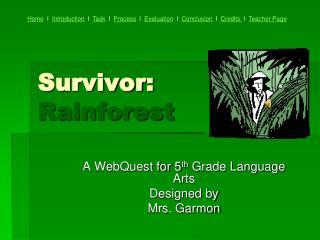 Survivor: Rainforest