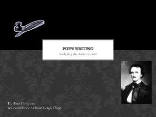 Poe's Writing