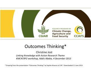 Outcomes Thinking*