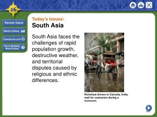 Today's Issues: South Asia
