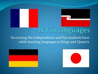 ICT in languages