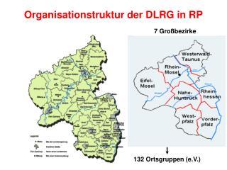 Organisationstruktur  der  DLRG in RP