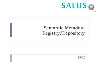 Semantic Metadata Registry/Repository