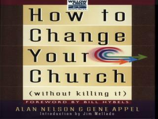 Church Change Workshop
