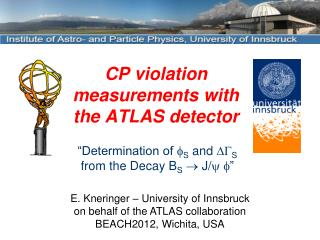 CP  violation measurements with the  ATLAS  detector