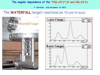 The  angular dependence of  the  16 O(e,e' K + ) 16 L N and  H (e,e' K + ) L
