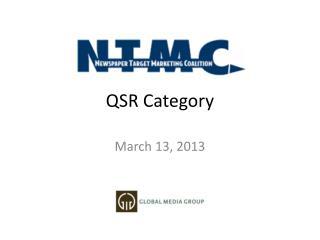 QSR Category