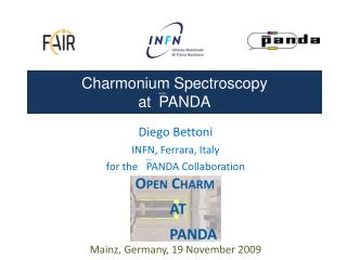 Charmonium Spectroscopy  atPANDA