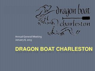 DRAGON BOAT CHARLESTON