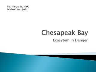 Chesapeak  Bay