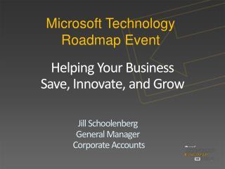 Microsoft Technology Roadmap Event
