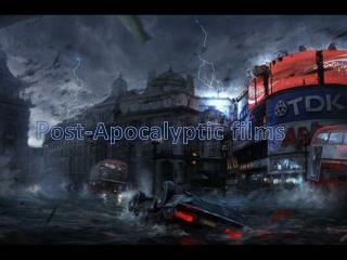 Post-Apocalyptic films
