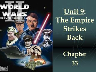 Unit 9 : The Empire Strikes Back