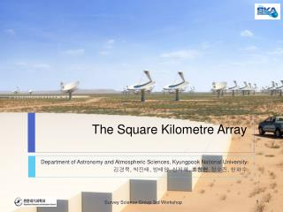 T he Square  Kilometre  Array