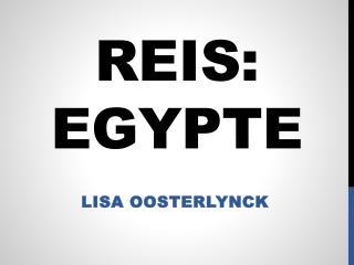 Reis:  egypte
