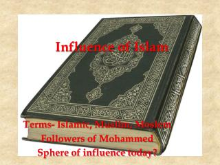 Influence of  Islam