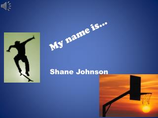 My name is�