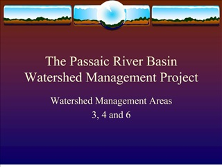 The Passaic River Basin Watershed Management Project