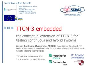 TTCN-3 embedded