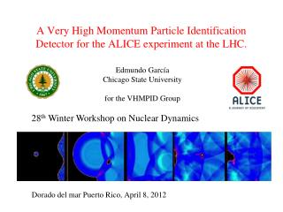 A Very High Momentum Particle Identification Detector for the ALICE experiment at the LHC.