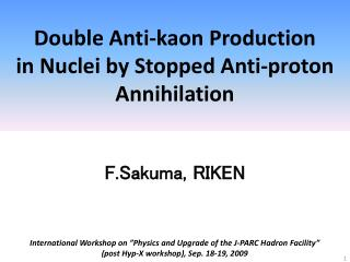 Double Anti-kaon Production in Nuclei by Stopped Anti-proton Annihilation