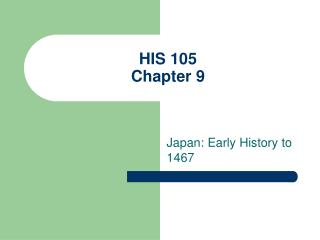 HIS 105 Chapter 9