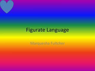 Figurate Language