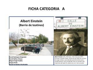 FICHA CATEGORIA   A