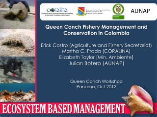 Queen Conch Fishery Management and Conservation in Colombia