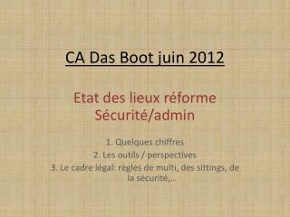 CA  Das  Boot juin 2012