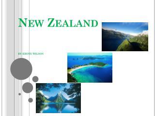 New Zealand  by ebony  wilson