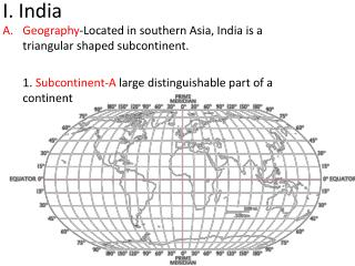I. India