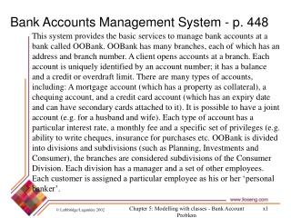 creating the class diagram for the Bank Account Management ...