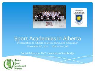 Sport Academies in Alberta