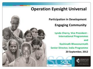 Operation Eyesight Universal