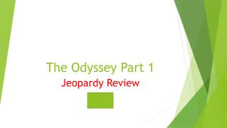 The Odyssey Part  1