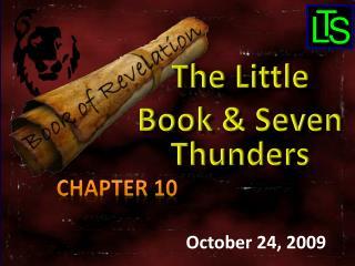 October 24, 2009