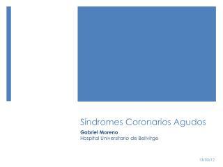 S�ndromes Coronarios Agudos