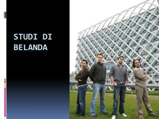 Studi di Belanda