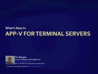 App-V for Terminal Servers