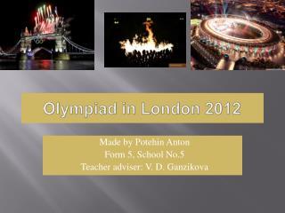 Olympiad in London 2012