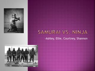 Samurai vs. Ninja