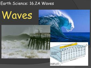 Earth Science:  16.2A Waves