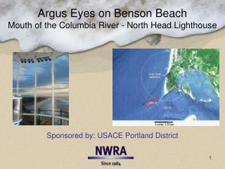Argus  Eyes on  Benson  Beach Mouth of the Columbia River - North Head Lighthouse