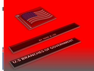 U.S  BRANCHES  OF GOVERNMENT